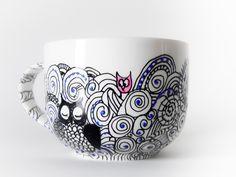owl soup bowl/mug