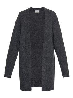 Acne Studios Raya mohair and wool-blend oversized cardigan
