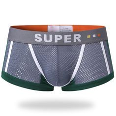 e74a2e305a Fashion Sexy Mesh Breathable Sweat Absorbent U Convex Boxer Underwear for  Men - NewChic Boxers Underwear