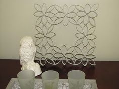 The Evolution of Home: Home Accent Piece Made of Toilet Paper Rolls