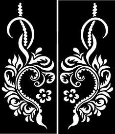 Curvy Love Heart Stencils for Henna and Glitter temporary tattoo body art - Curvy Love Heart Stencils for Henna and Glitter temporary tattoo body art - # Diy Tattoo, Henna Tattoo Stencils, Henna Mehndi, Hand Henna, Mehndi Art, Stencil Stickers, Heart Stencil, Tattoo Templates, Human Body Art