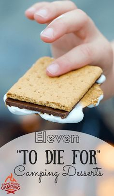 "11 ""To Die For"" Camping Desserts – Saving Money Camping 11 To Die For Camping Desserts You can take me to some of the best desserts in the world, but I'll still love my camping desserts www.savingmoneyca… camping tips Camping Desserts, Camping Meals, Camping Hacks, Fun Desserts, Camping Recipes, Camping Guide, Camping 2017, Camping Cabins, Backpacking Meals"