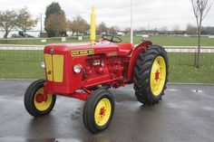 The David Brown 990 was built by David Brown from 1965 to 1971 in Meltham, West… Antique Tractors, Vintage Tractors, Old Tractors, Vintage Farm, Old Ford Trucks, Lifted Chevy Trucks, Pickup Trucks, Classic Tractor, Case Ih