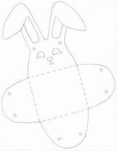 molde caja conejo 02
