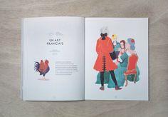 Influencia / La conversation by Violaine & Jeremy , via Behance #publication  #editorial