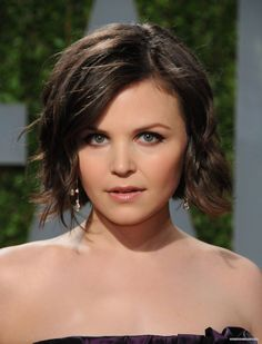 Ginnifer Goodwin...as my hair grows if I ever let it