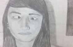 9 - Graphite - Self-Portrait