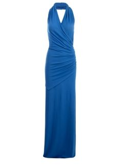 The Halter Drape Maxi  | Dresses | Isabella Oliver This is stunning