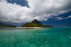 Le Morne from the yacht