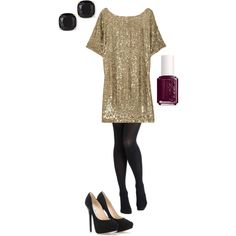 """""""Holiday Party Attire"""" by aboutangela on Polyvore"""