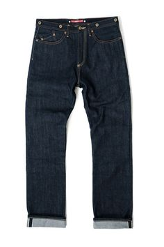 1941x  -  Straight  Cut Selvedge Denim without Kevlar
