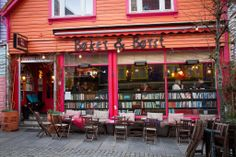"""Books and Booze"" Pub, Stavanger, Norway"