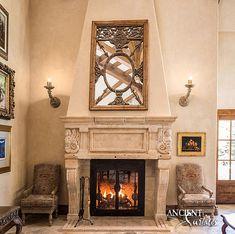 Antique Tudor fireplace | Antique Fireplaces by Ancient Surfaces
