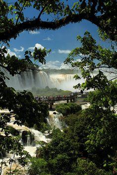 Embarquement pour cythere by Mathieu Struck, Iguassu Falls, Brazil via Flickr