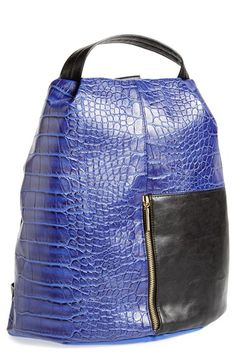 French Connection 'Tough Love' Faux Leather Backpack available at #Nordstrom