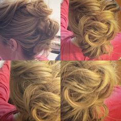 Love you, knot. Three times as much!  #knotbuns #updo #restructureyourstructure
