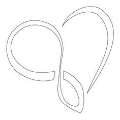 infinity heart tattoo - Google Search
