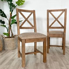 Solid and Beautiful. Wooden Dining Chair made using reclaimed wood. Shop reclaimed wood dining chairs with cushioned seat. Wooden Dining Chairs, Reclaimed Wood Dining Table, Dining Chair Cushions, Reclaimed Wood Furniture, Upholstered Dining Chairs, Dining Room, Comfortable Dining Chairs, Solid Oak, Free Uk