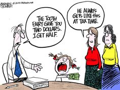April political cartoons from Gannett cartoonists Taxes Humor, Accounting Humor, Political Cartoons, Funny Cartoons, Cartoon Humor, Dental Humor, Toot, Children And Family, Comic Strips