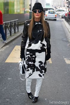 Anna Dello Russo at the Kenzo Fall-Winter 2013/2014 Ready-to-Wear Fashion Show at the Samaritaine in Paris, France - March 3, 2013