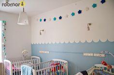 roomor! - kids hospice - Gajusz Foundation, kids room, roomor project, waves, lamperia, nursery,