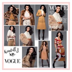 """Kendall Jenner Vogue Turkey November 2016"" by valenlss ❤ liked on Polyvore featuring xO Design"