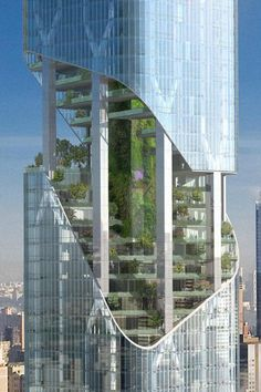 New York Tower by Studio Daniel Libeskind in New York, United States