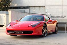 Ferrari 458 Italia from the RallyWays Car Photography Portfolio.