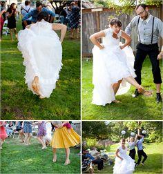 Hoedown wedding....sweet