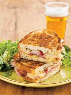 Grilled-cheese au jambon et à la moutarde Recettes | Ricardo