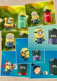 Minion battery app :)