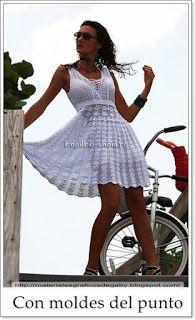 Materiales gráficos Gaby: Maravilloso vestido de punto