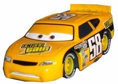 Disney / Pixar CARS Movie 1:55 Die Cast Car Motor Speedway of the South #58 Octane Gain by Mattel. $19.77