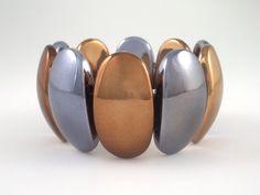 plastic metallic colour bracelet