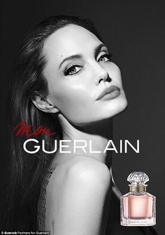 Giving back: Following the release of the perfume, it was announced that Angelina will donate her entire earnings from the campaign to charity