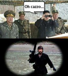 Chuck Norris basta e avanza...