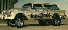 ,55 Chevy Nomad Gasser