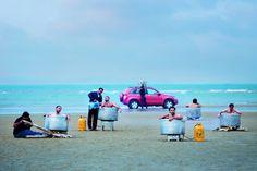 """[C'EST DANS LE MAG] L'exposition """"Iran, Année 38"""" raconte les quatre dernières décennies du pays à travers le prisme de la photographie. Une fresque ambitieuse à voir en ce moment aux #RencontresArles ! On vous en dit plus dans le #Fisheye 25, à retrouver en kiosque, et sur le site de #fisheyelemag [Photo: © Morteza Niknahad & Behnam Zakeri] #photo #photographie #photography #Iran #travel #travelphotography"""