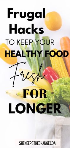 Money saving tips make food last longer. I go through several types of food categories for fresh preserving hacks. Includes information on guideline dates, how to store food in your fridge. #savingmoney #frugaltips Money Saving Meals, Best Money Saving Tips, Ways To Save Money, Managing Money, Cash Money, Food Categories, Frugal Tips, Financial Planning, Finance Tips