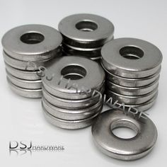 Never Rust Stainless Steel Bicycle Brake Pad Acorn Nuts and Washers 4