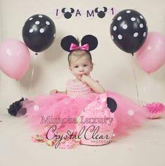 Minnie mouse dress minnie mouse birthday dress Flower girl
