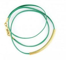 Teal Gold Bracelet I WANT this on my wrist
