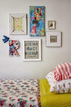 Lemon Lane : Style on Monday - gallery walls