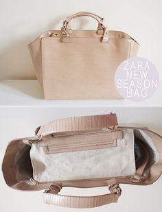 Introducing: New Season Zara Bag. - Nouvelle Daily