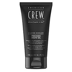 American Crew Precision Shave Gel 150 ml American Crew, Shaving Oil, Shaving Cream, Types Of Beards, Beard Types, Thin Beard, Pumpkin Seed Extract, Aqua, Close Shave