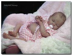 Tinkerbell Nursery Unique Newborn Baby Girl Doll Reborn by Helen Jalland | eBay