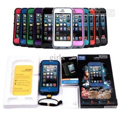 Wholesale Lifeproof Water Proof Dirt Proof Snow Proof Shock Proof Case Cell Phone Case For iPhone 5G, Free shipping, $8.8-10.24/Piece   DHgate