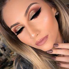 The Best Natural Makeup Tips – LovelYou Dramatic Eye Makeup, Glam Makeup, Love Makeup, Makeup Inspo, Bridal Makeup, Makeup Art, Wedding Makeup, Makeup Inspiration, Beauty Makeup