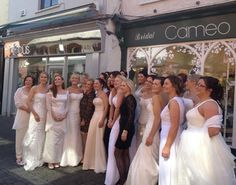 2 visitors have checked in at Cameo Bridal Boutique. Dresses Ireland, Bridal Belts, Bridal Boutique, Bridal Dresses, Cuffs, Wedding, Fashion, Bride Dresses, Valentines Day Weddings