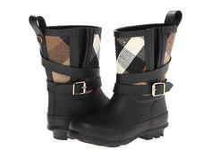 Burberry Kids - Holloway Rainboot (Toddler/Little Kids) (Black) - Footwear Burberry Kids, Burberry Shoes, Kids Fashion Photography, Kids Clothes Boys, Little Boy Fashion, Heart For Kids, Black Heart, My Little Girl, Kid Styles